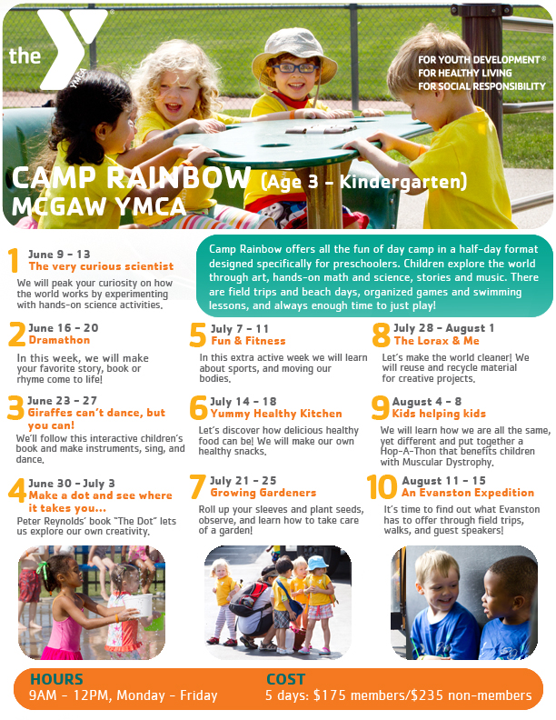 Camp Rainbow Flyer