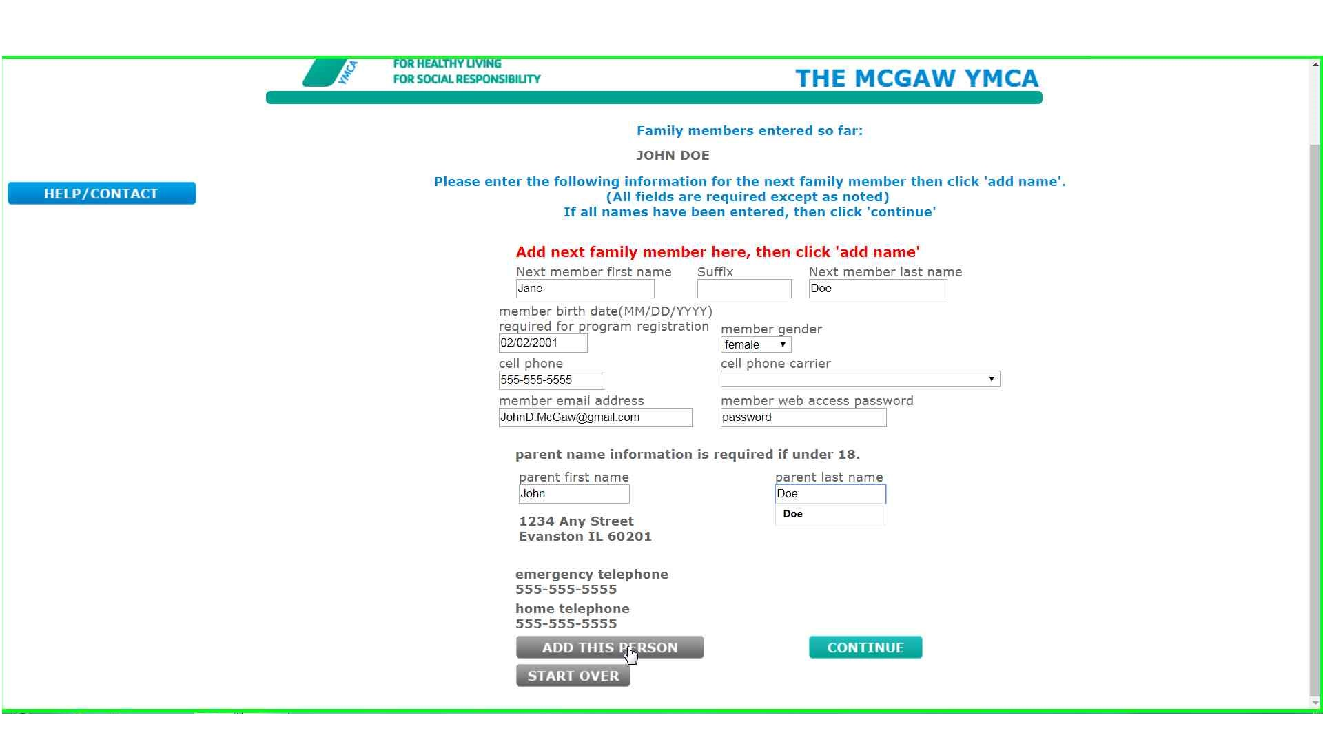 Join   The McGaw YMCA